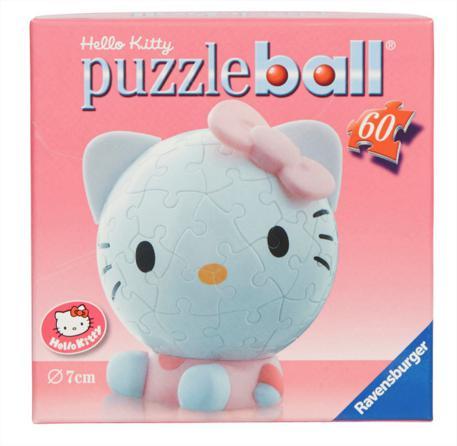Promotion sur une sélection d'articles Clementoni (jeux, puzzles, etc) - Ex: Puzzle ball Big Face Hello Kitty 60 pièces
