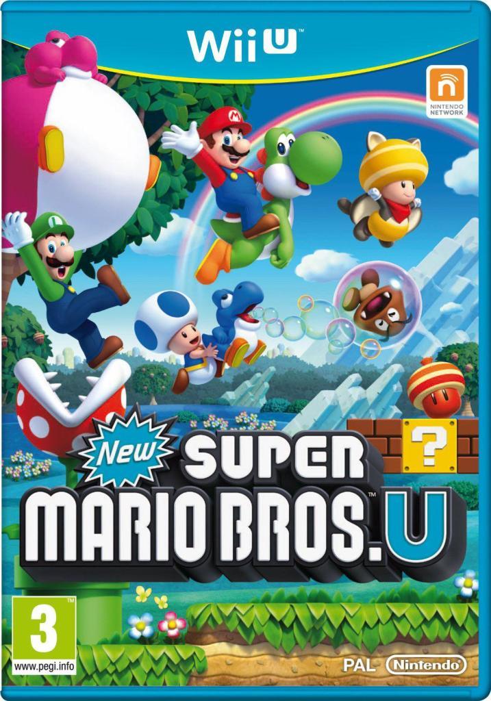 New Super Mario Bros.U sur Wii U