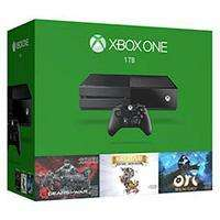 Console Microsfot Xbox one 1To + Gears of Wars Ultimate Edition + rare Replay + Ori and the Blind Forest