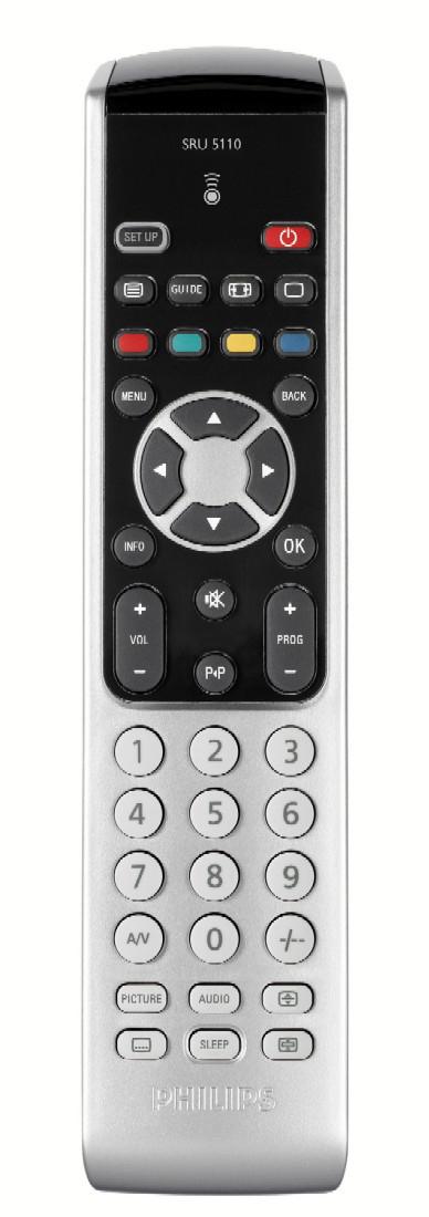 Télécommande universelle PHILIPS SRU5110/86 - Reconditionnée