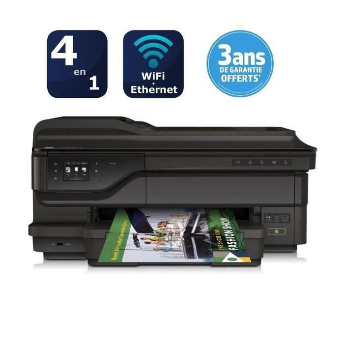 Imprimante A3+ HP Officejet pro 7612 + Cartouche 932 XL Noire + 2 Bons d'achat de 50€ (ODR de 50€)