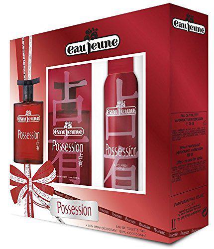 Sélection de coffrets Parfums et Beauté en promotion - Ex : Coffret Possession Eau Jeune (Eau de Toilette 75ml + Déodorant 150ml)