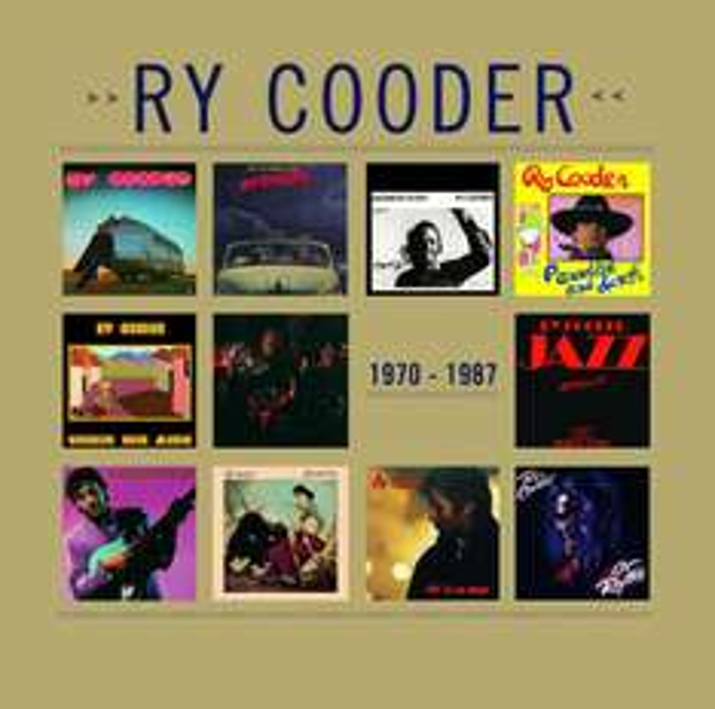 Coffret 11 CD Ry Cooder 1970-1987