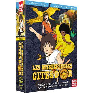 Les Mystérieuses Cités d'Or - Intégrale collector Blu-Ray