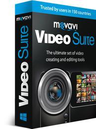 Logiciel Movavi Vidéo Suite 15 via le site mobile