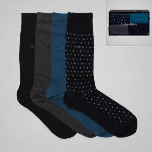 Sélection de chaussettes Calvin Klein Homme/Femme en promotion - Ex : 4 paires