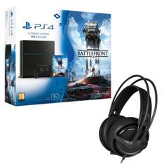 Pack PS4 1To + Star Wars Battlefront + Casque SteelSeries Siberia P300