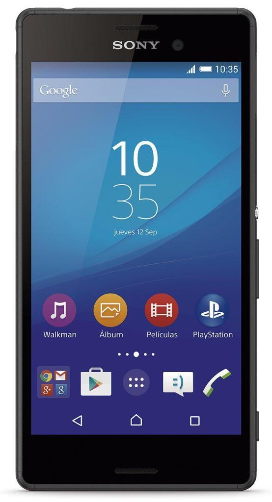 """Smartphone 5"""" Sony Xperia M4 Aqua Noir ou Blanc"""