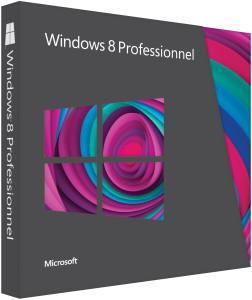 Windows 8 Pro versions ESD et FPP