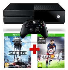 Console Xbox One 500 Go + Fifa 16 + Star Wars : Battlefront