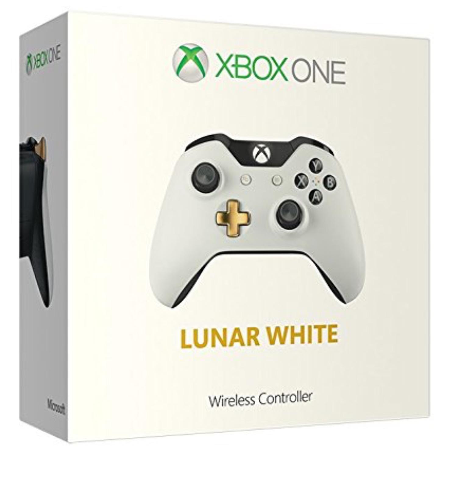 Manette sans fil lunar blanche Xbox one