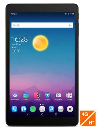 """Tablette 10"""" Alcatel onetouch Pop 10  avec clavier offert (avec forfait sans engagement)"""
