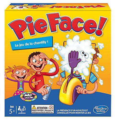 Jeu Hasbro Pie Face B70631010 - Le Jeu De La Chantilly