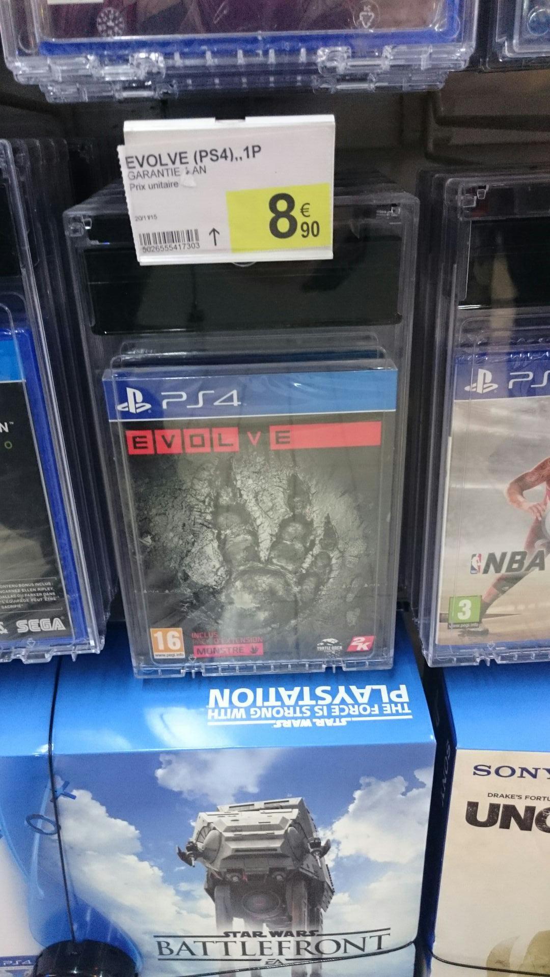 Jeu Evolve sur PS4