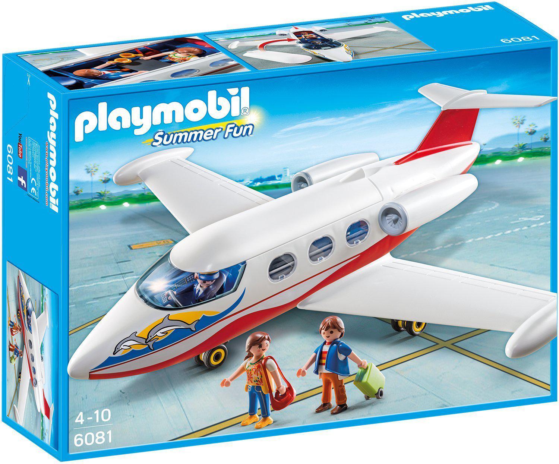 Jouet Playmobil Avion 6081