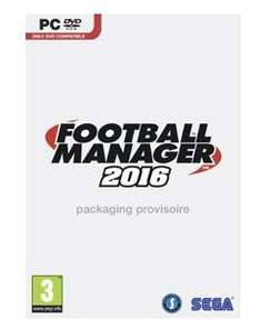 Football Manager 2016 sur PC