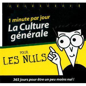 Un livre Les Nuls acheté = Almanach de la Culture générale pour les Nuls offert