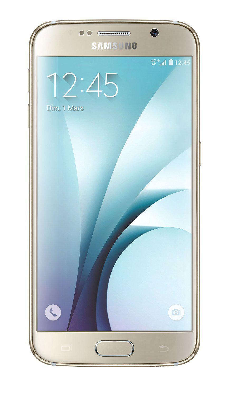 "Smartphone 5.1"" Samsung Galaxy S6 Or Stellaire  - 32 Go"