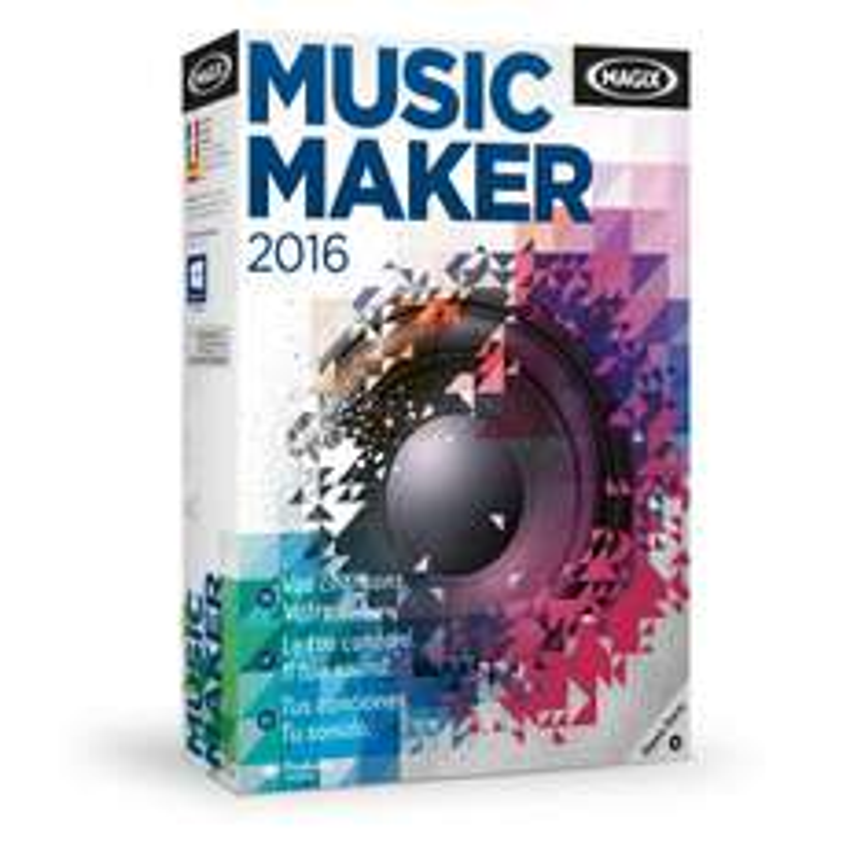 Logiciel de M.A.O. Magix Music Maker 2016