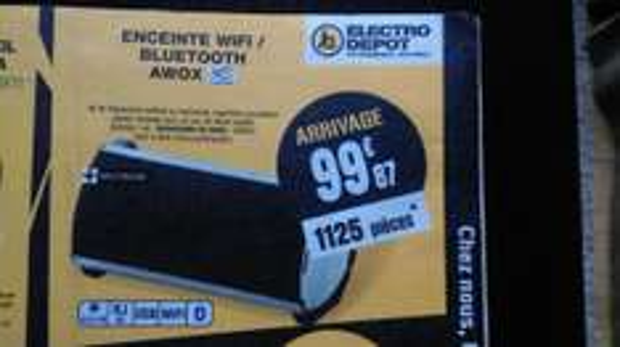 Enceinte Wifi/Bluetooth Awox StrilmSound SD-BW80 - 80W