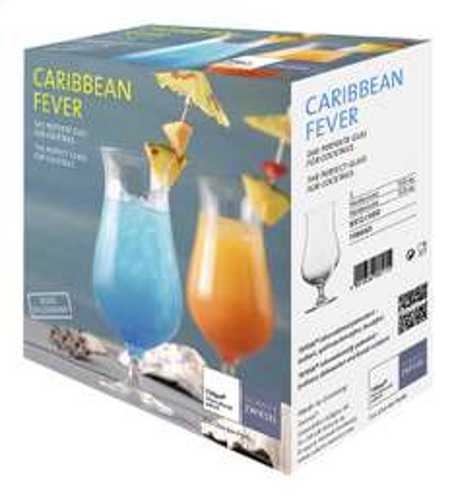 2 Verres à cocktail Schott Zwiesel - Caribbean Fever, 53 cl