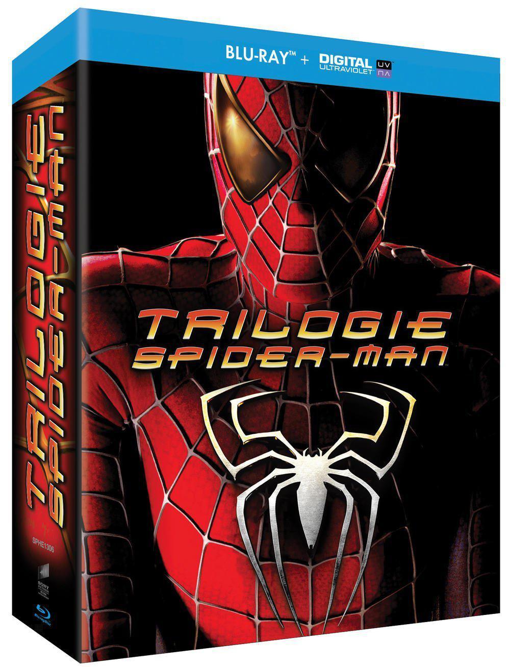 Coffret Blu-ray + Digital : Spider-Man - Trilogie
