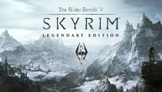 Sélection de jeux Skyrim en promotion - Ex : Skyrim Legendary Edition sur PC