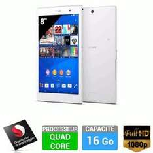 "Tablette 8"" Sony Xperia Z3 Compact Blanche - 16 Go Wifi"
