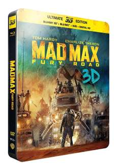 Sélection de Films et de Coffrets DVD et Blu-Ray à -50% - Ex: Coffret Game Of Thrones saison 1 à 4 à 37€99 / Steelbook Mad Max Fury Road