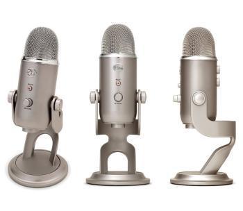 Microphone USB Blue Yeti - Silver