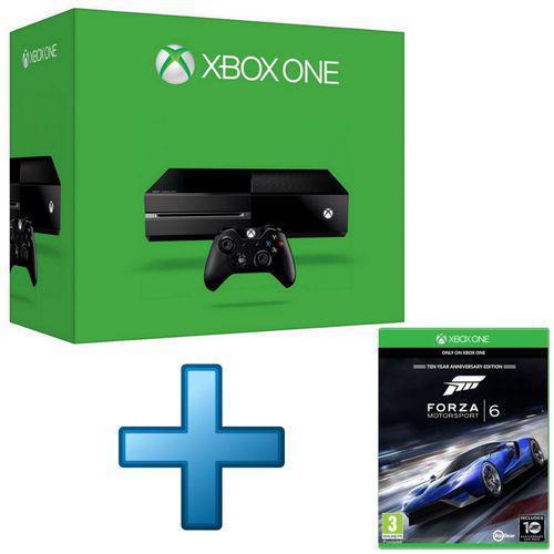 Microsoft Xbox One + Forza Motorsport 6