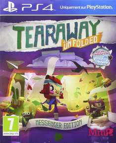 Tearaway Unfolded Edition Messenger PS4