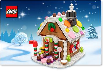 La maison en pain d'épice Lego 40139 offerte dès 65€ d'achat
