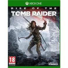 Rise of the Tomb Raider (version boite) sur Xbox One + Gears of War Ultimate Edition et Rare Replay (dématérialisées)