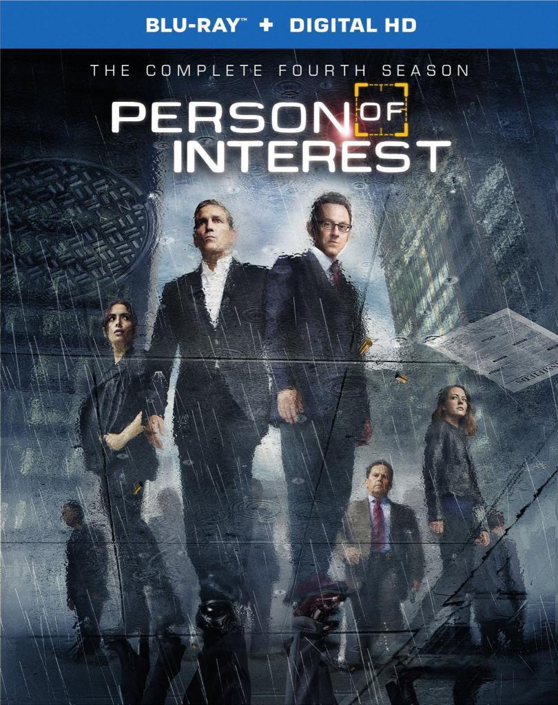 Blu-ray Person Of Interest Saison 4