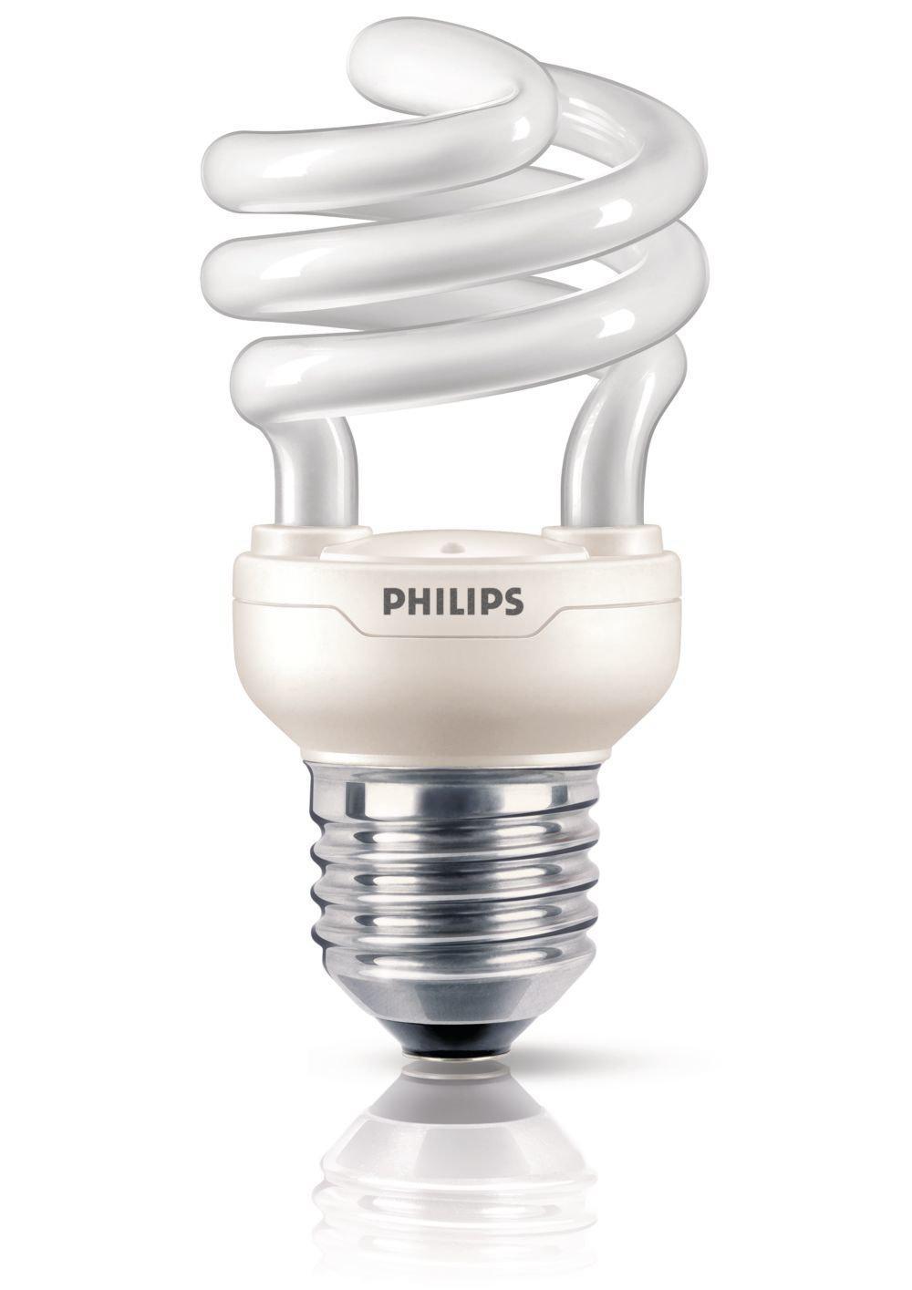Ampoule Fluo-Compacte Spirale (12W consommé - Culot E27)