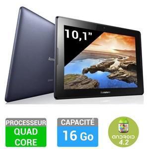 """Tablette 10.1"""" Lenovo IdeaTab A10-70 16Go (Avec ODR de 30€)"""