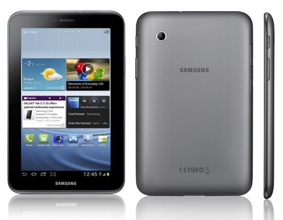 """Tablette Samsung Galaxy Tab 2 7"""" 8go + Coque cover (Avec ODR de 30€)"""