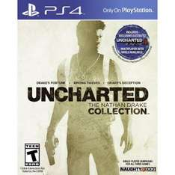 Uncharted Nathan Drake Collection sur PS4 (Version dématérialisée US)