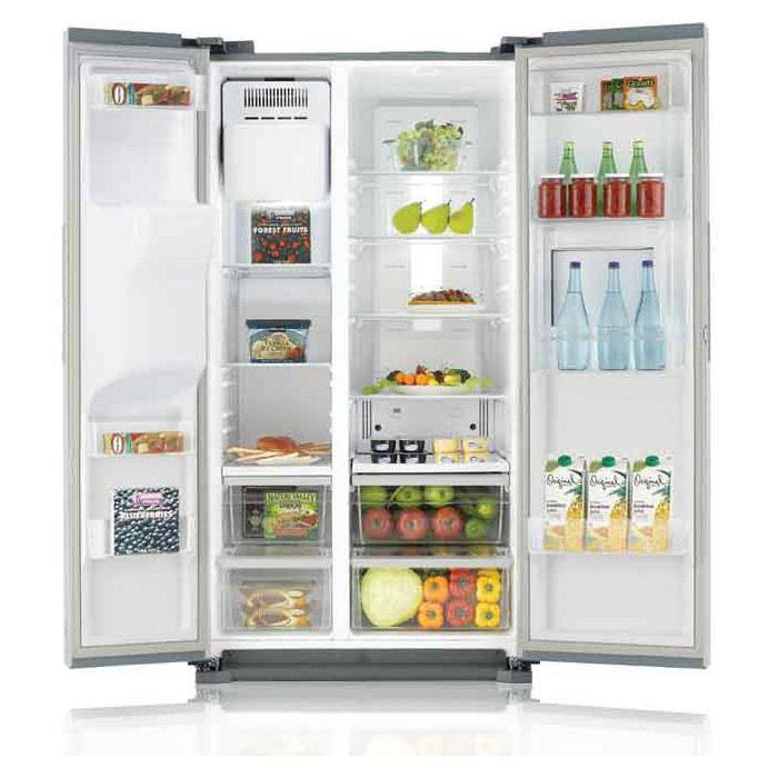 Réfrigérateur Américain Samsung RS7577THCSP - 530L, froid ventilé