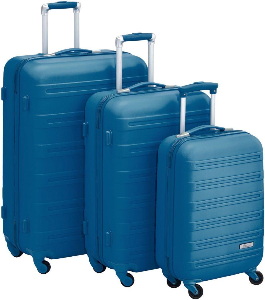 Sets de 3 bagages Fabrizio 10163-4600 (S, M, L) - Bleu