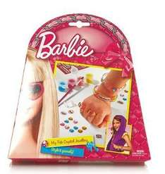 Set de décoration de bijoux Barbie Totum - Multicolore