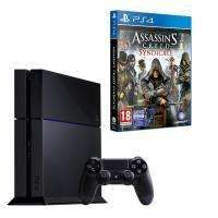 Assassin's Creed Syndicate offert parmi une sélection de packs PS4 - Ex : Console Sony PS4 + Assassin's Creed Syndicate