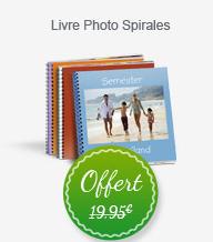 1 Livre Photo offert (Frais de port : 6€)