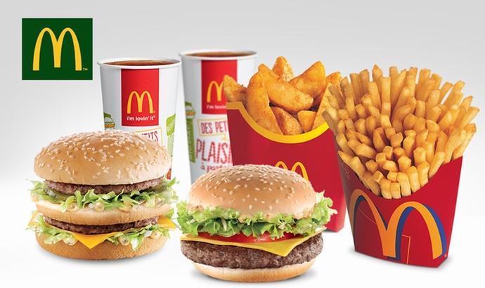 2 menus Maxi Best Of chez McDonald's (voir liste des participants)