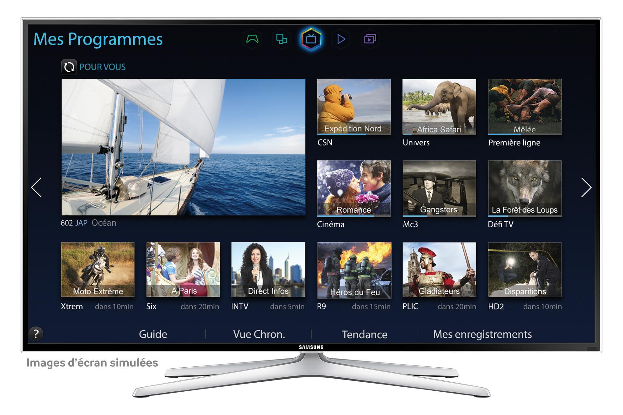 """TV LED 55"""" Samsung UE55H6400"""