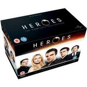 Coffret DVD : Heroes - The Complete Collection, VO uniquement