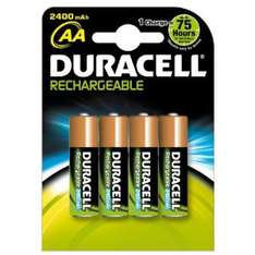 piles duracell AA rechargeables