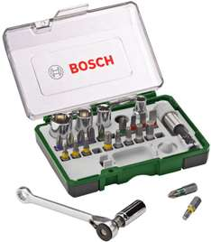 Coffret de clés à cliquet Bosch 2607017160 - 27 pièces
