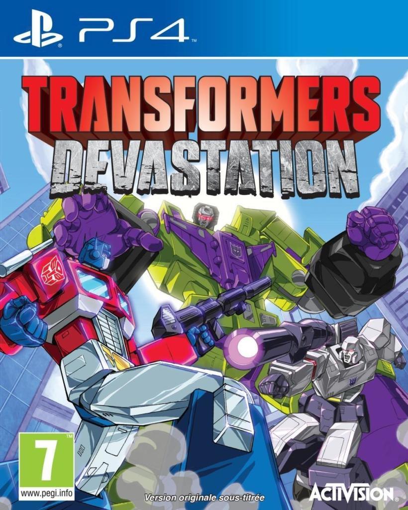 Jeu Transformers Devastation sur PS4